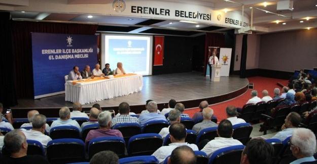 AK Parti Erenler, Danışma Meclisinde bir araya geldi