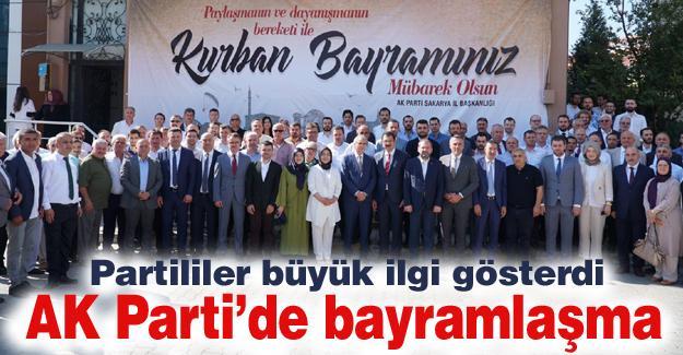 AK Partililer bayramlaştı