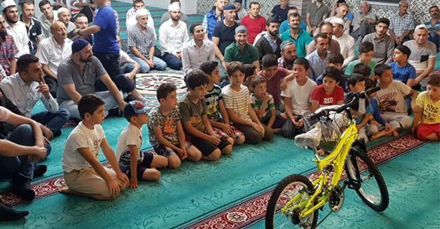 Akyazı'da ödüllü Kur'an Kursu eğitimi