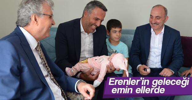Başkanlardan 'Hoş Geldin Bebek' ziyaretleri