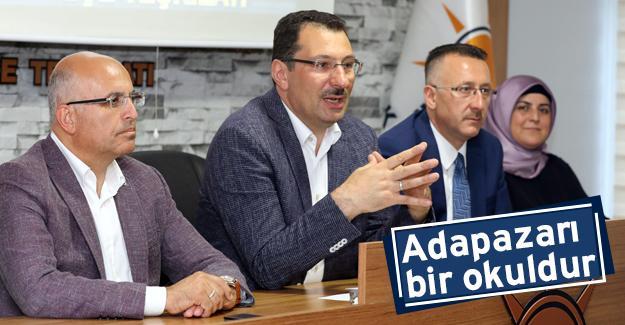 Genel Başkan Yardımcısı Yavuz, İlçe Teşkilatında konuştu