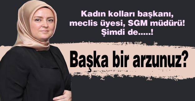 Hem kadın kolları başkanı, hem meclis üyesi, hem SGM müdürü!