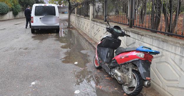 Çalınan motosiklet bulundu çalan şahıs tutuklandı