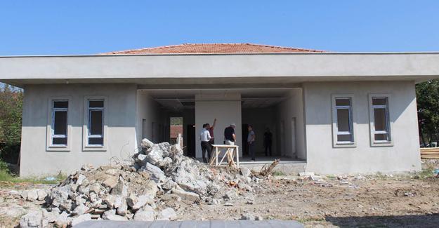 Cumhuriyet Mahallesi ASM inşaatı hızla ilerliyor