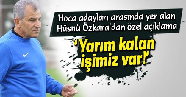 Hüsnü Özkara açıkladı!