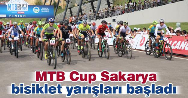 MTB Cup Sakarya bisiklet yarışları başladı
