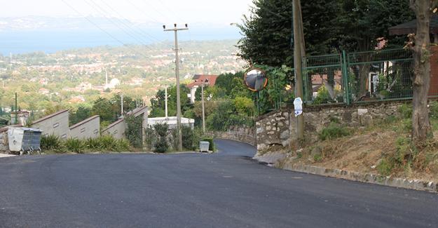 Sapanca'da yollar Büyükşehirle yenilendi