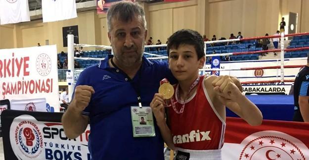 Uysal, Türkiye Şampiyonu oldu