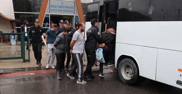 11 çete üyesi tutuklandı