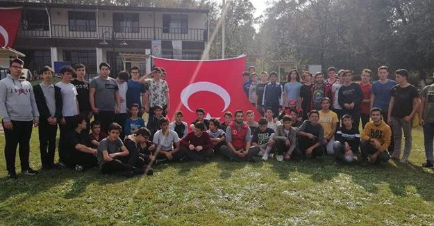 Adapazarı Anadolu İHL'den kamp etkinliği
