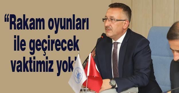 Adapazarı Belediyesi Ekim ayı meclisi yapıldı