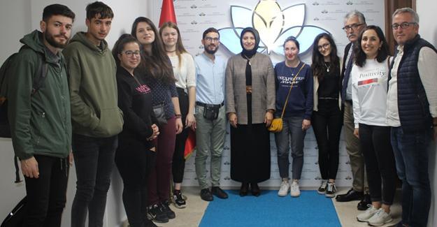 Avrupalı gençlerin milli eğitim ziyareti