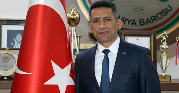 Baro Başkanı Burak'tan Cumhuriyet Bayramı mesajı