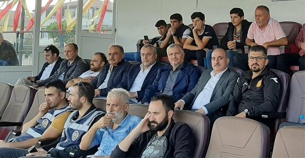 Başkan Kılıç Erenlerspor'u yalnız bırakmadı