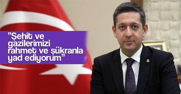 Başkan Korkmaz'dan 29 Ekim mesajı