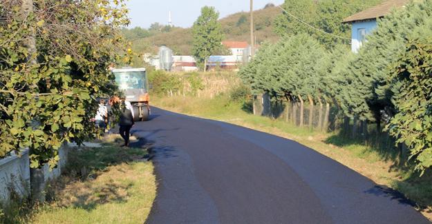 Büyükşehir asfalt ekipleri Kocaali'de