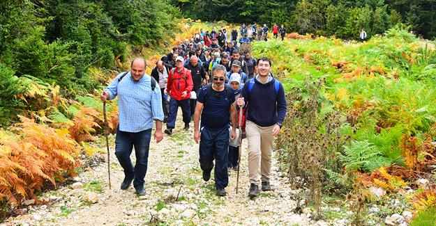 Doğa yürüyüşleri Kılıçkaya'da başladı