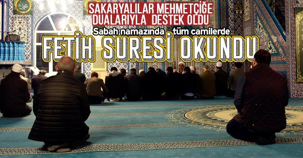 Kahraman Mehmetçik için dualar edildi