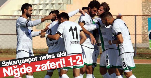 Sakaryaspor'dan Niğde zaferi! 1-2