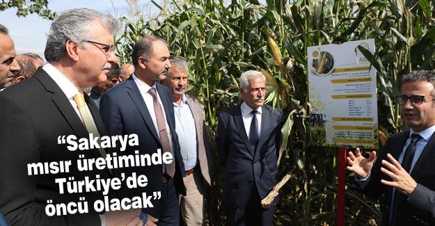 Yerli mısır ürünleri tanıtıldı
