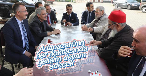 Başkan Işıksu Karadere'de vatandaşlarla buluştu