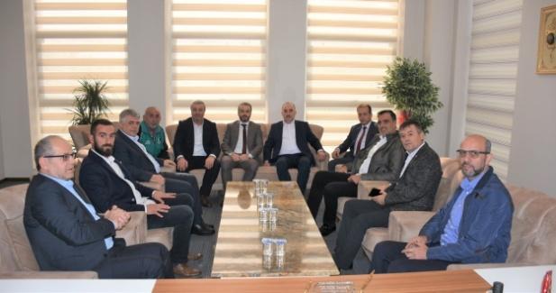 Başkan Kılıç Sakaryaspor Yönetimini ağırladı