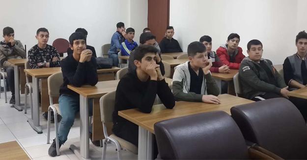 Çıraklık öğrencileri Almanya'ya gitmeye hazırlanıyor
