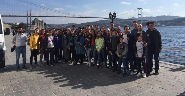 Derece yapan öğrenciler için gezi düzenlendi