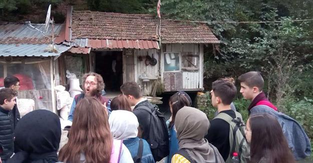 'Okul Dışı Öğrenme Ortamlarında' eski su değirmenini ziyaret ettiler