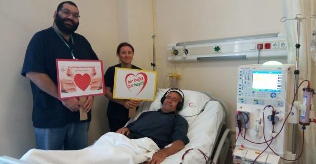 Organ bağışına dikkat çektiler