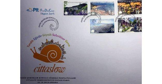 PTT'nin 'Sakin Şehirler' pulları arasında Taraklı da var