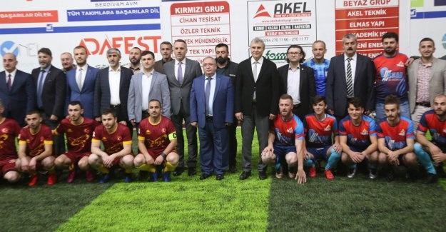 SATSO 7. Meslek Komitesi Futbol Turnuvasında yeni sezon başladı