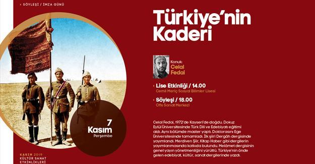 'Türkiye'nin Kaderi' kitabı konuşulacak