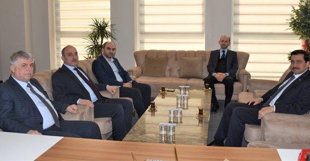 Başkan Kılıç Genel Sekreter Mustafa Ak'ı ağırladı