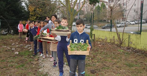"""Osmanbey İlkokulunda """"Evde Yaşam Becerileri Atölyesi' açıldı"""