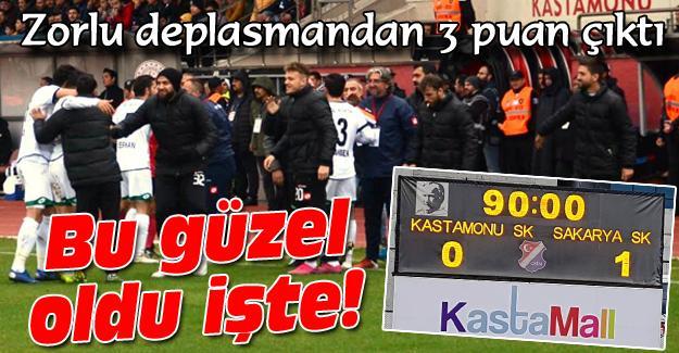 """Sakaryaspor """"Altın"""" buldu! 0-1"""