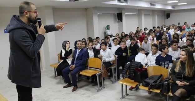 Yeşiltepe Ortaokulu'nda sağlıklı beslenme semineri düzenlendi