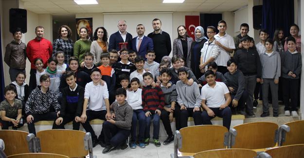 Yeşiltepe Ortaokulu öğrencilerine motivasyon semineri