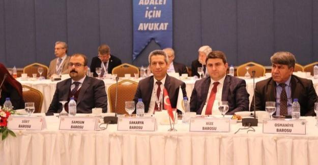 Başkan Burak 40. Baro Başkanları Toplantısına katıldı