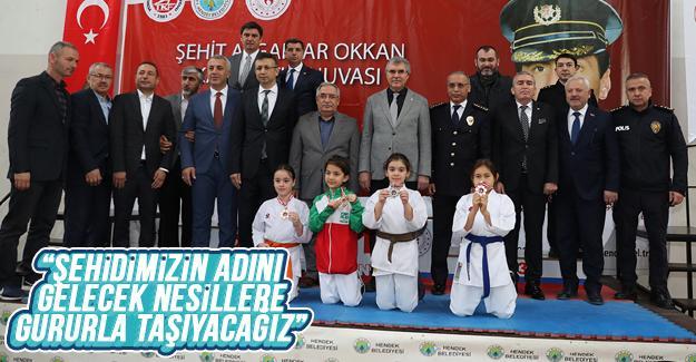 Ali Gaffar Okkan Karate Turnuvası sona erdi