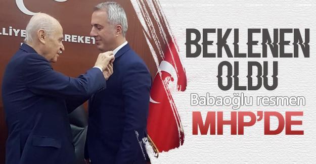 Babaoğlu yeniden MHP'de