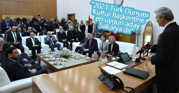 Gagauzya Yeri Cumhurbaşkanı'ndan Başkan Yüce'ye ziyaret