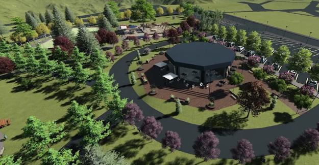 Karaman sosyal tesisi şehre yeni bir soluk getirecek