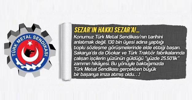 Sezar'ın hakkı Sezar'a!…