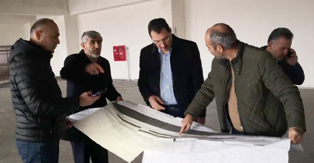 Ali İhsan Yavuz tesislerde incelemelerde bulundu