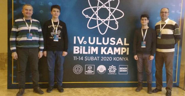 Arifiye Fen Lisesi 4. Ulusal Bilim Kampında