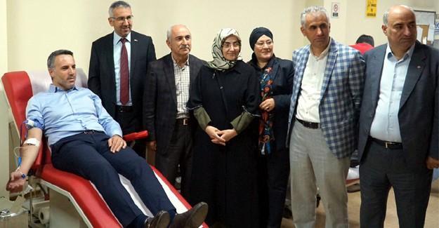 Başkan Tever'den kan bağışı çağrısı