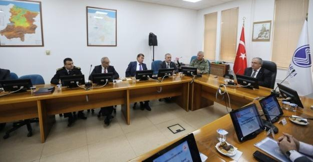Genel Asayiş Toplantısı Serdivan'da yapıldı