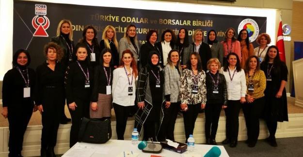 Kadın Girişimciler TOBB bilgilendirme seminerinde