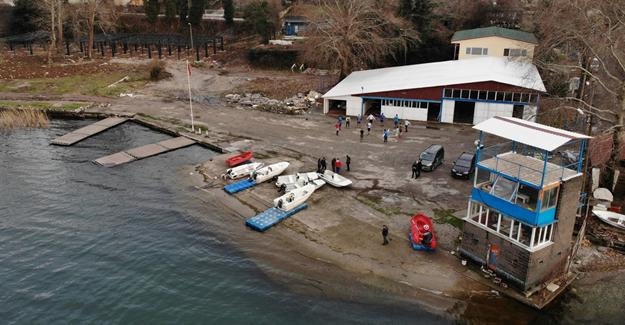 Kürek-Kano tesisi yenileniyor